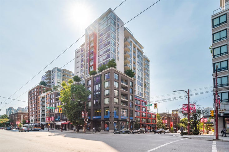 1106 188 KEEFER STREET - Downtown VE Apartment/Condo for sale, 2 Bedrooms (R2612528)