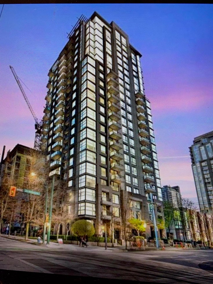 1108 1295 RICHARDS STREET - Downtown VW Apartment/Condo for sale, 1 Bedroom (R2612795)