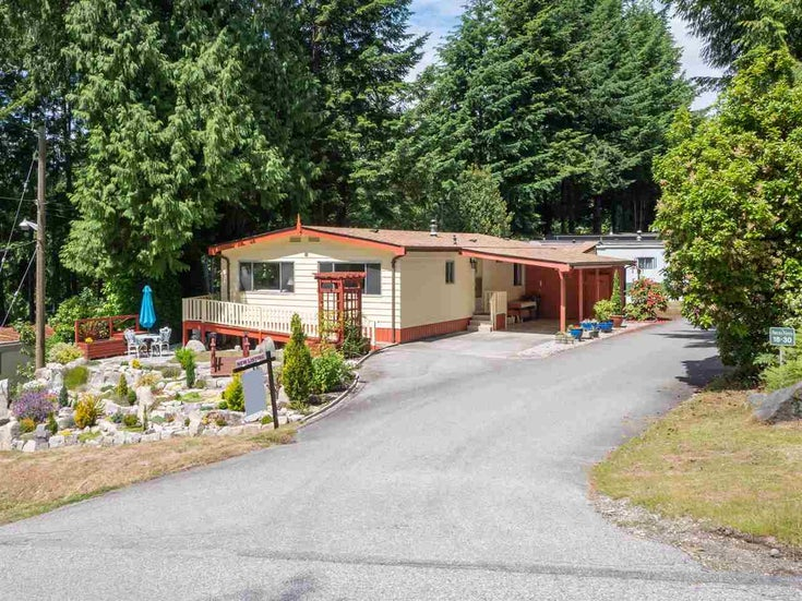 18 5288 SELMA PARK ROAD - Sechelt District Manufactured for sale, 2 Bedrooms (R2613279)