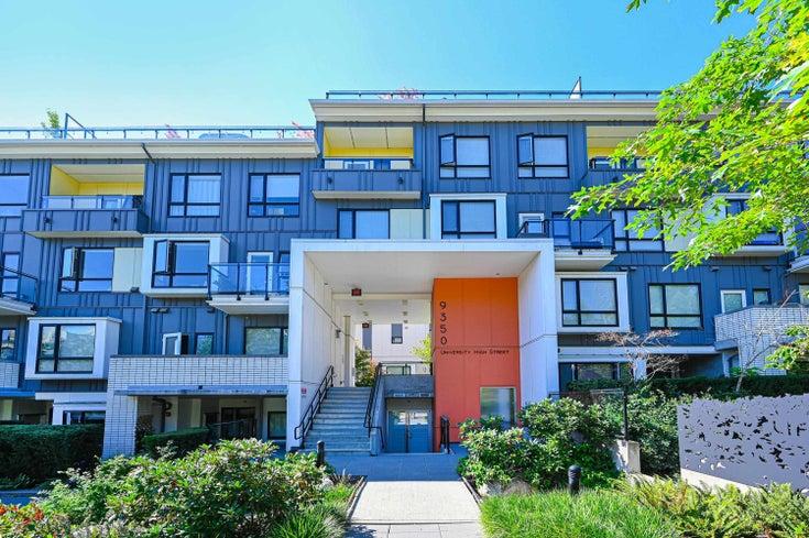 106 9350 UNIVERSITY HIGH STREET - Simon Fraser Univer. Apartment/Condo for sale, 2 Bedrooms (R2613594)