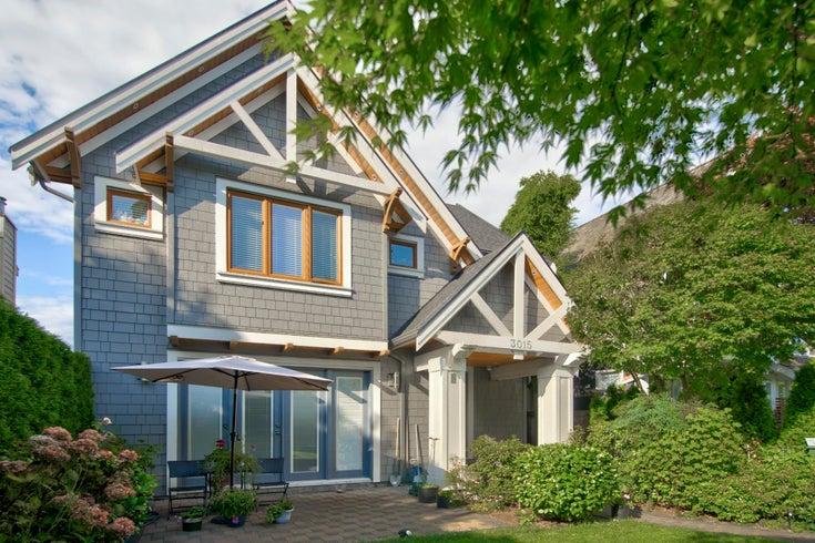 3015 W 2ND AVENUE - Kitsilano 1/2 Duplex for sale, 3 Bedrooms (R2614098)