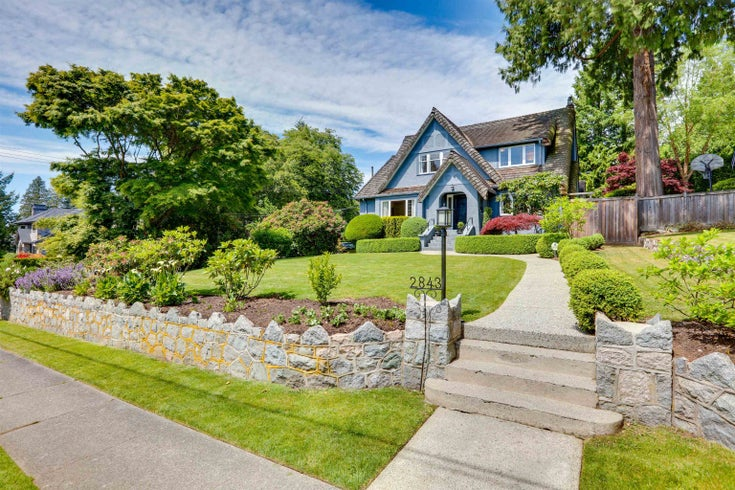 2843 W 49TH AVENUE - Kerrisdale House/Single Family for sale, 5 Bedrooms (R2614156)