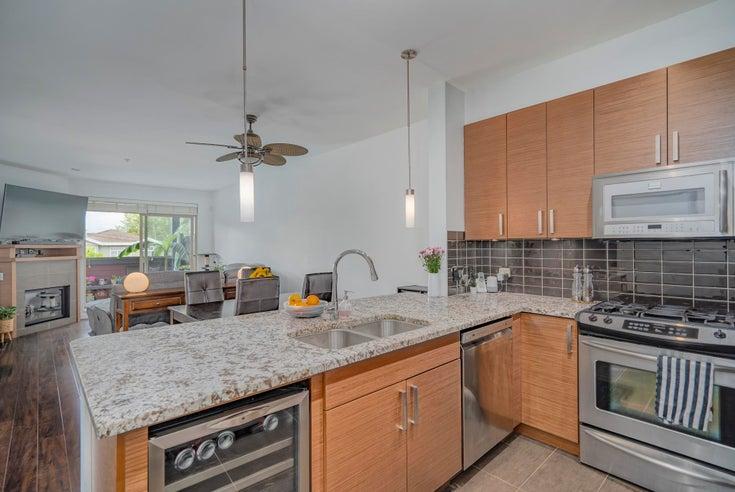 202 288 HAMPTON STREET AVENUE - Queensborough Apartment/Condo for sale, 1 Bedroom (R2614164)