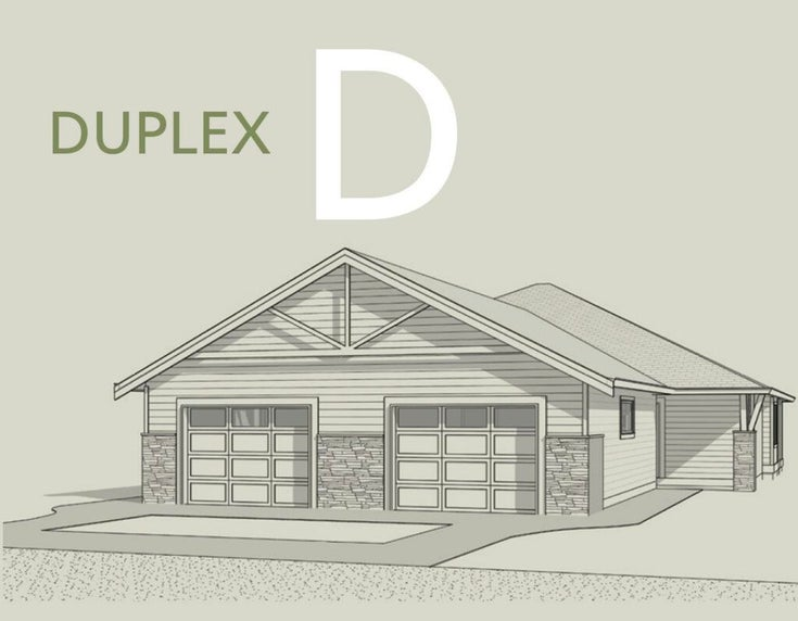 809 GERUSSI LANE - Gibsons & Area 1/2 Duplex for sale, 2 Bedrooms (R2614675)