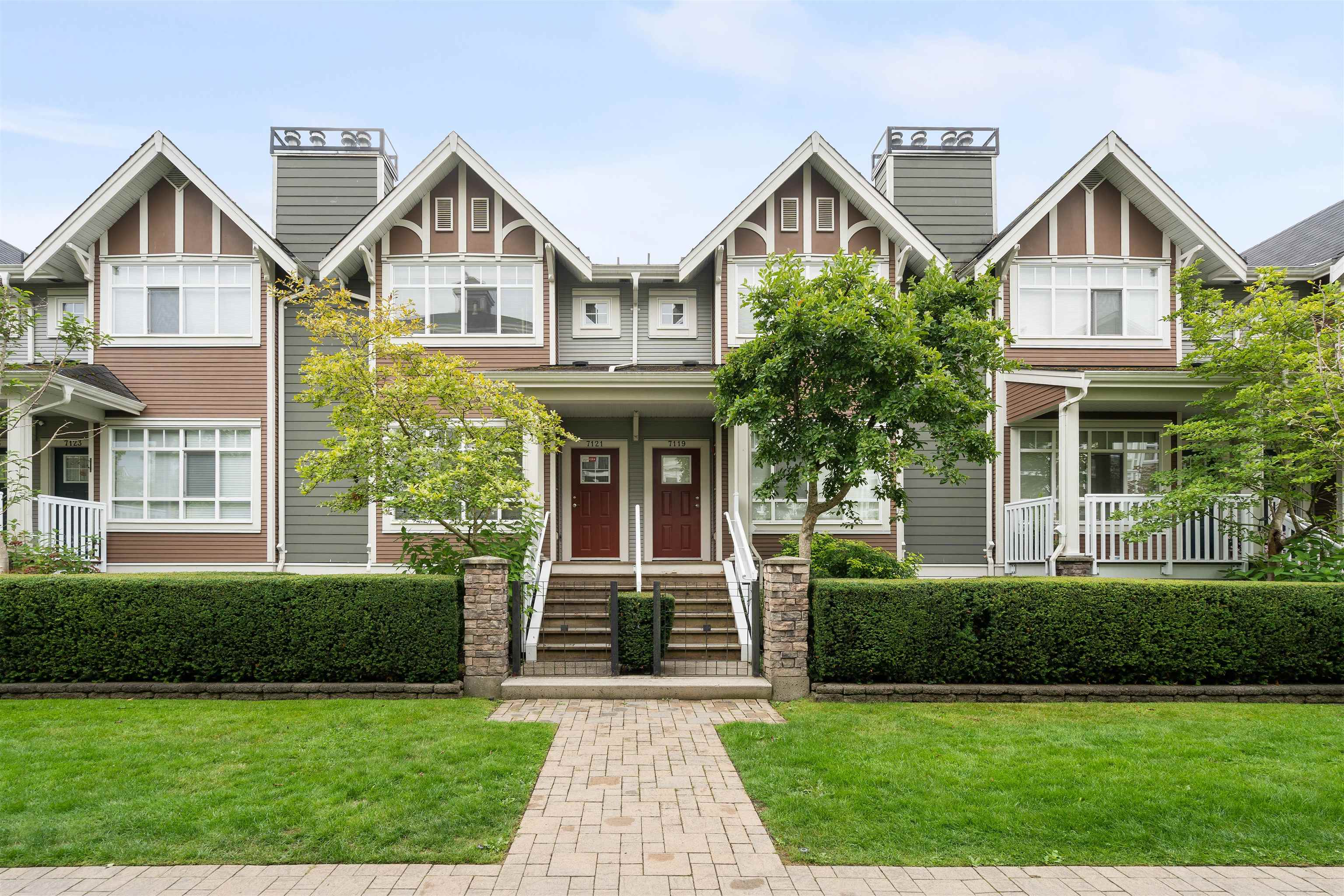 7121 MONT ROYAL SQUARE - Champlain Heights Townhouse for sale, 4 Bedrooms (R2614767) - #1