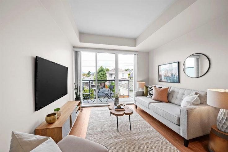 507 388 KOOTENAY STREET - Hastings Sunrise Apartment/Condo for sale, 1 Bedroom (R2614791)