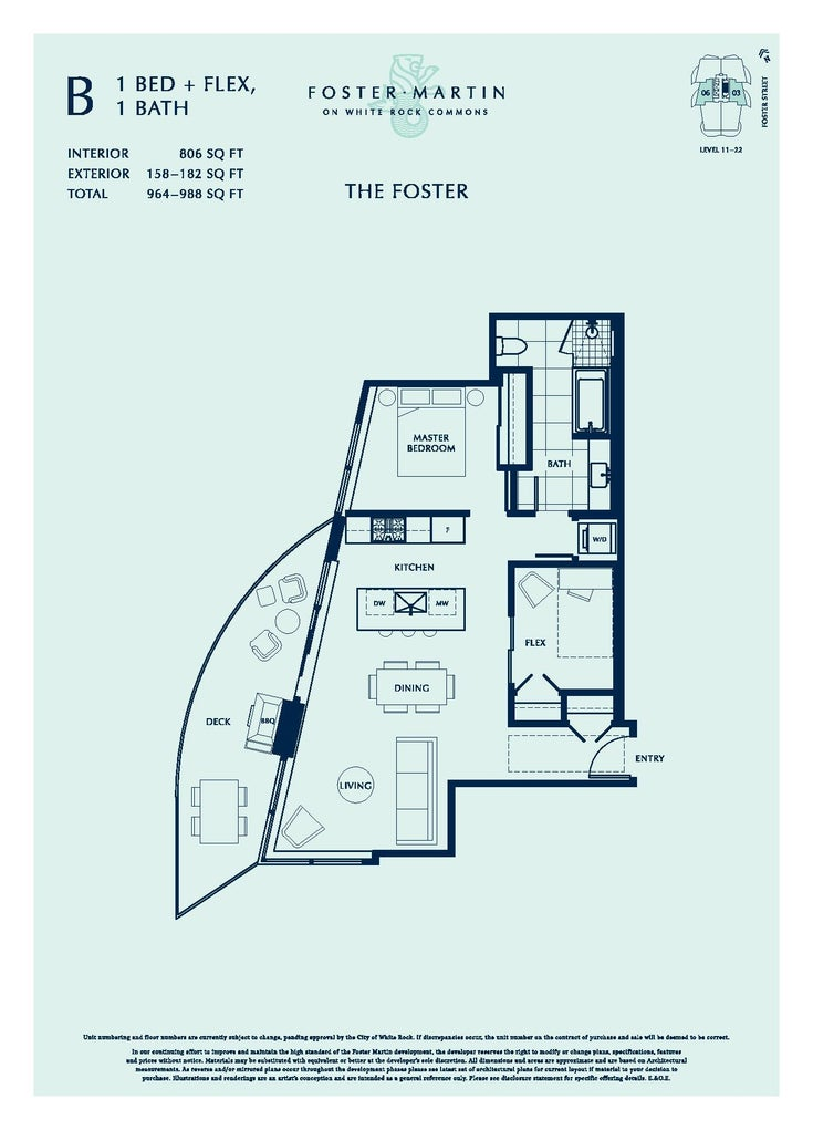 1804 1500 MARTIN STREET - White Rock Apartment/Condo for sale, 1 Bedroom (R2614888)