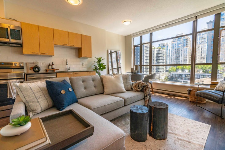 609 1249 GRANVILLE STREET - Downtown VW Apartment/Condo for sale, 1 Bedroom (R2615010)