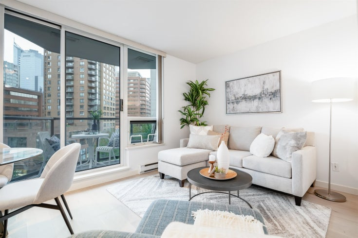 603 1212 HOWE STREET - Downtown VW Apartment/Condo for sale, 1 Bedroom (R2615026)