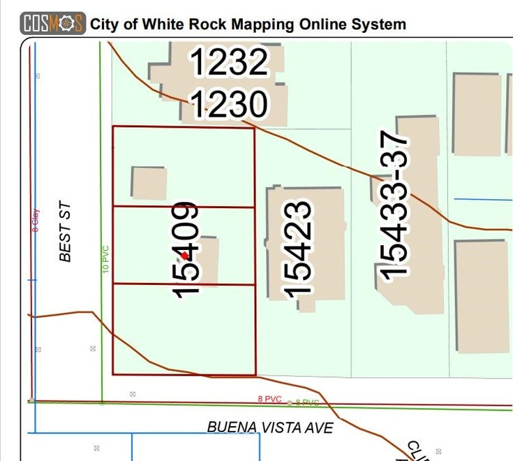 15409 BUENA VISTA AVENUE - White Rock House/Single Family for sale, 4 Bedrooms (R2615084)