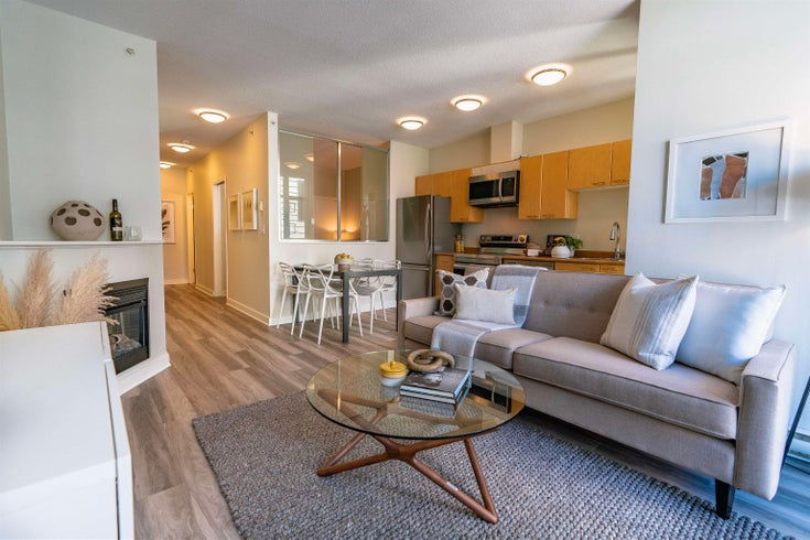 208 1249 GRANVILLE STREET - Downtown VW Apartment/Condo for sale, 1 Bedroom (R2615101)