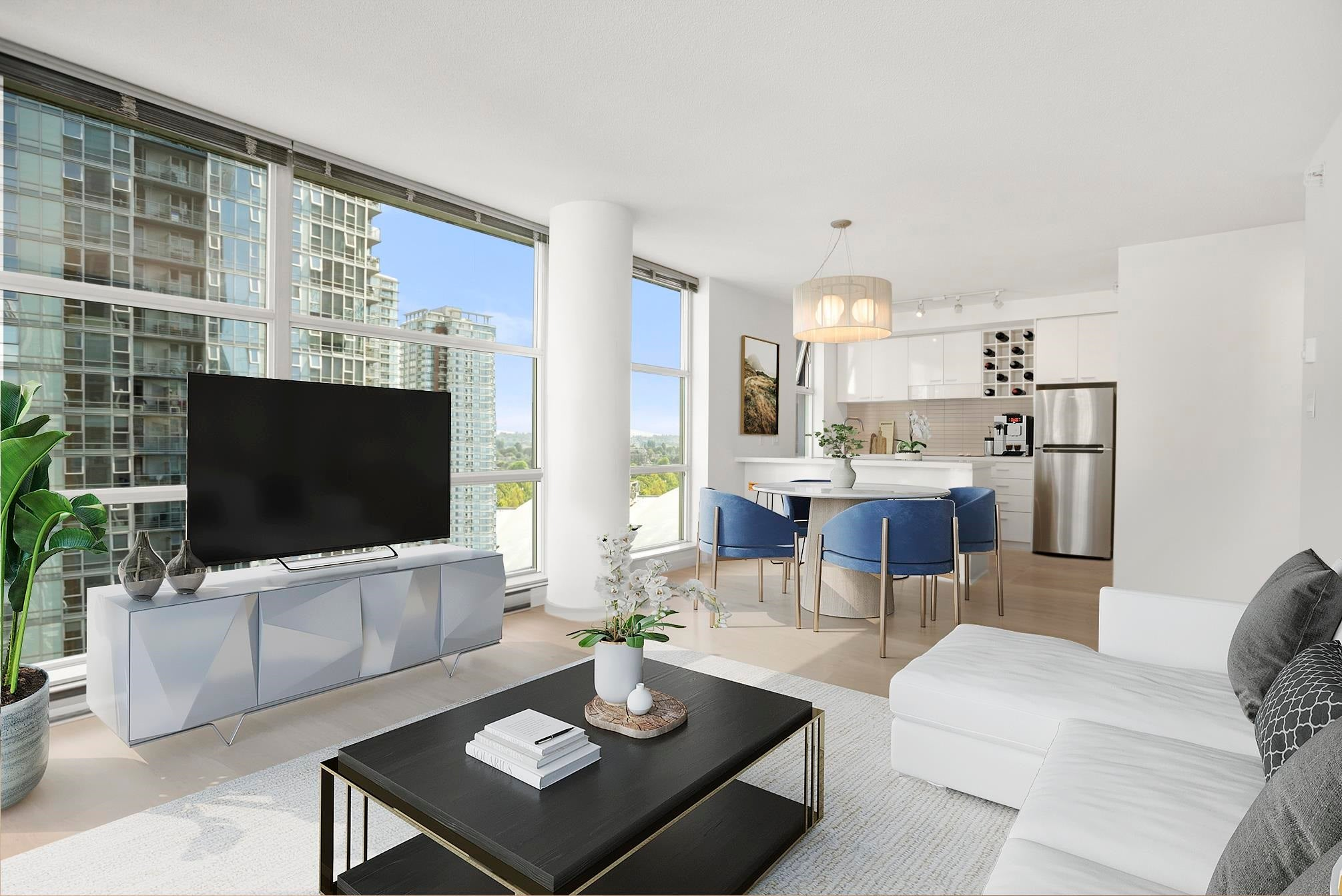1206 111 W GEORGIA STREET - Downtown VW Apartment/Condo for sale, 2 Bedrooms (R2615199) - #1