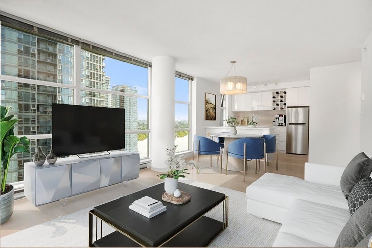 1206 111 W GEORGIA STREET - Downtown VW Apartment/Condo for sale, 2 Bedrooms (R2615199)
