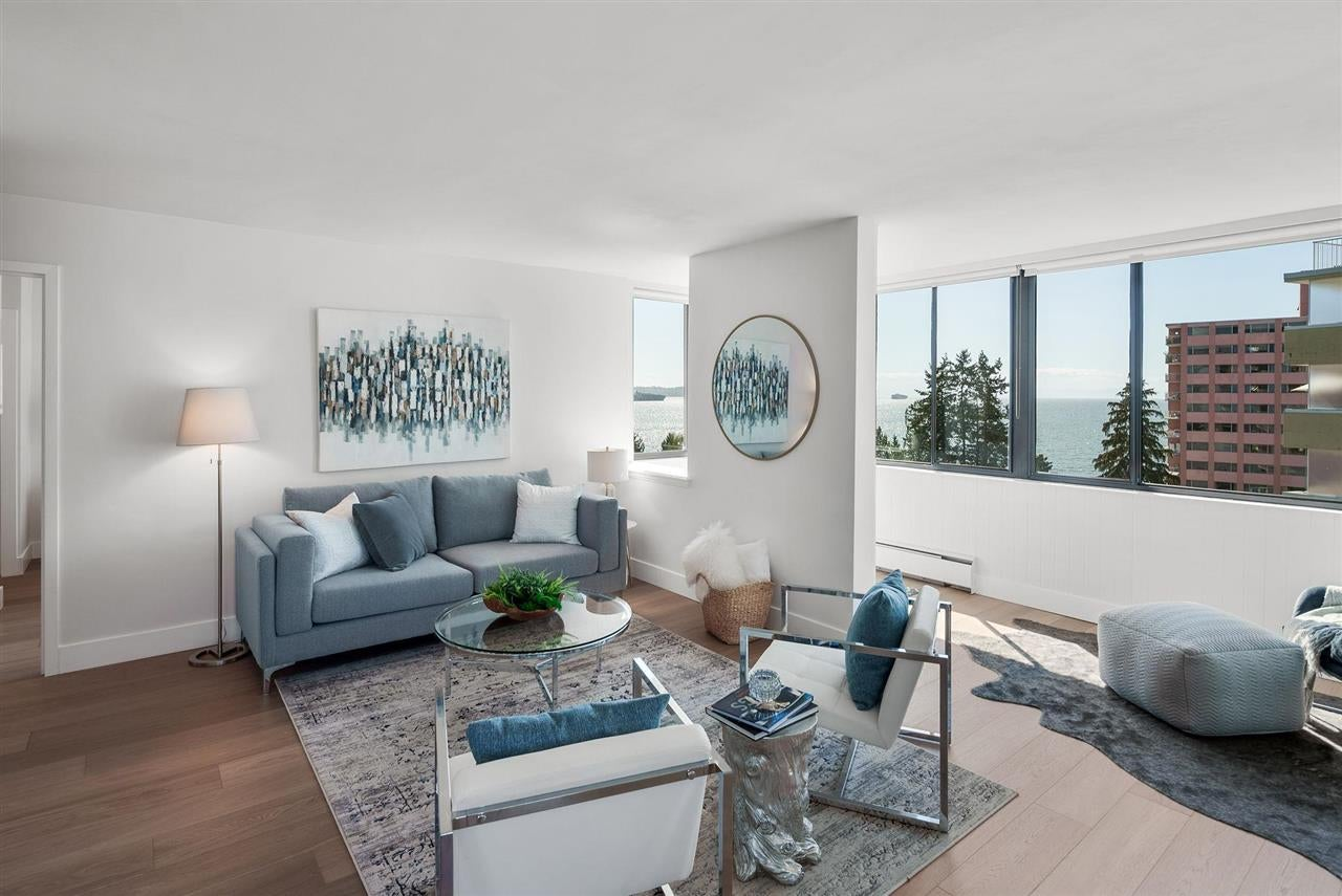 703 2167 BELLEVUE AVENUE - Dundarave Apartment/Condo for sale, 2 Bedrooms (R2615536)