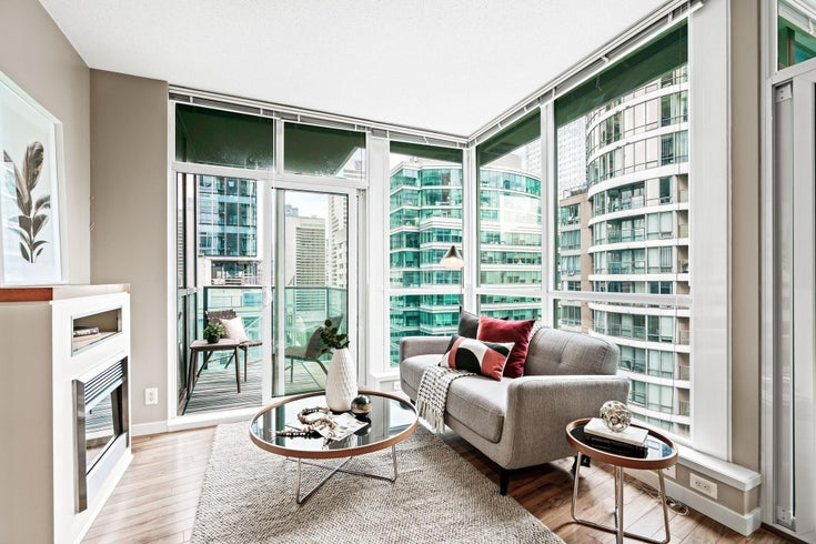 2105 1189 MELVILLE STREET - Coal Harbour Apartment/Condo for sale, 1 Bedroom (R2615541)