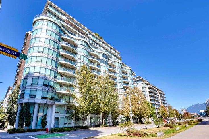 805 1661 ONTARIO STREET - False Creek Apartment/Condo for sale, 1 Bedroom (R2615657)