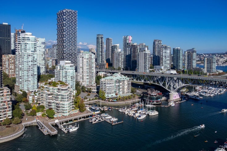606 1600 HOWE STREET - Yaletown Apartment/Condo for sale, 2 Bedrooms (R2615665)