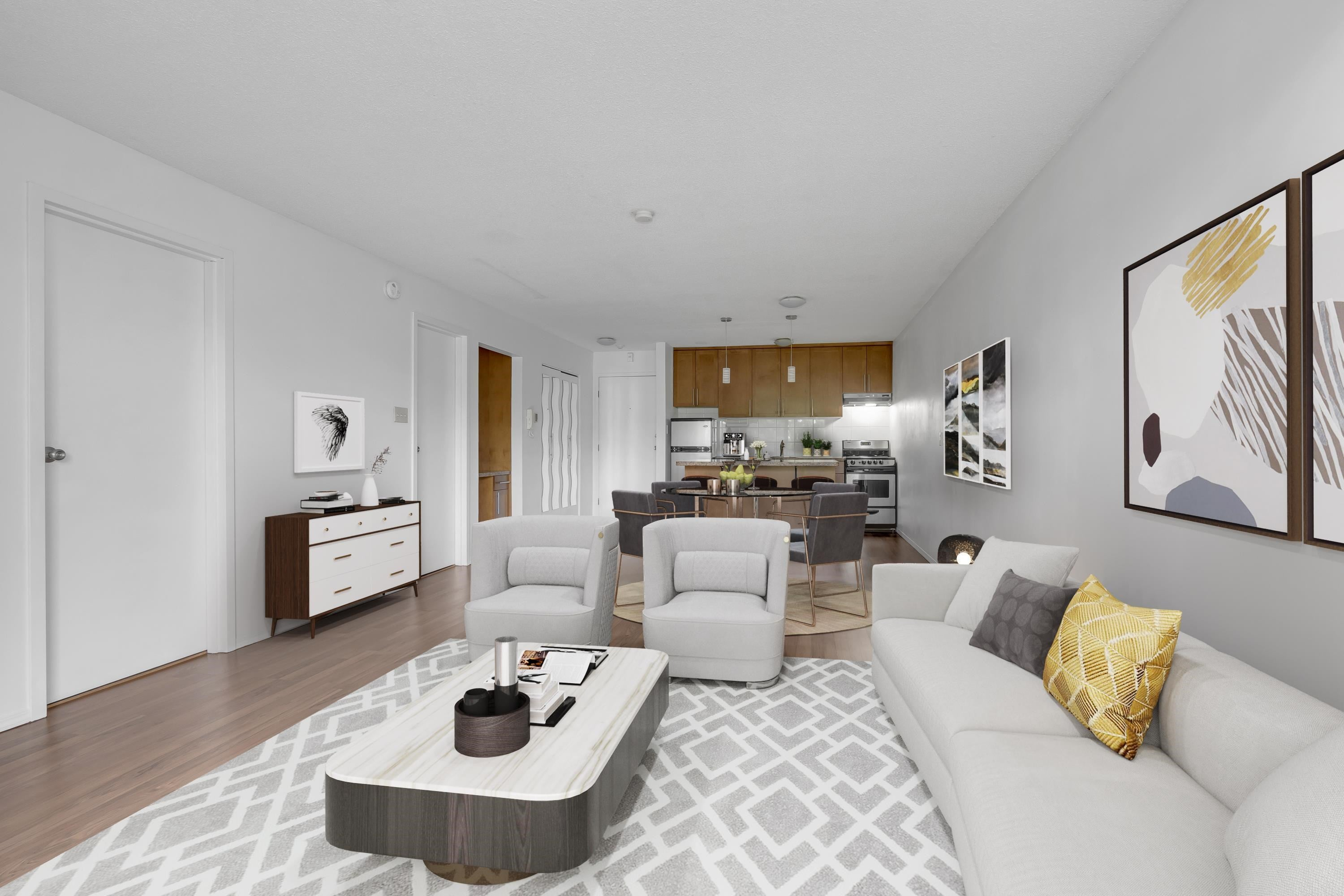 208 270 WEST 3RD STREET - Lower Lonsdale Apartment/Condo for sale, 1 Bedroom (R2615758) - #3