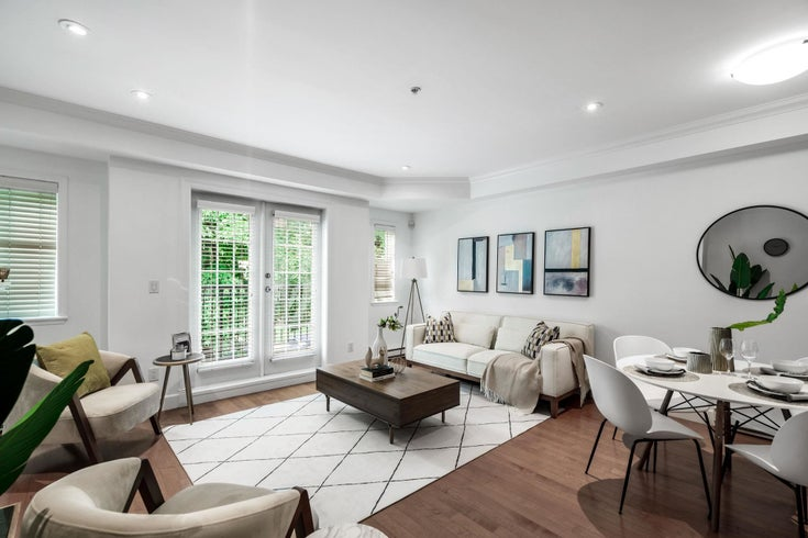 5 1135 BARCLAY STREET - West End VW Townhouse for sale, 2 Bedrooms (R2615920)