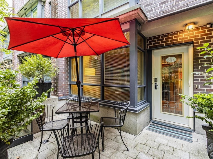 100 1068 HORNBY STREET - Downtown VW Townhouse for sale, 2 Bedrooms (R2615995)