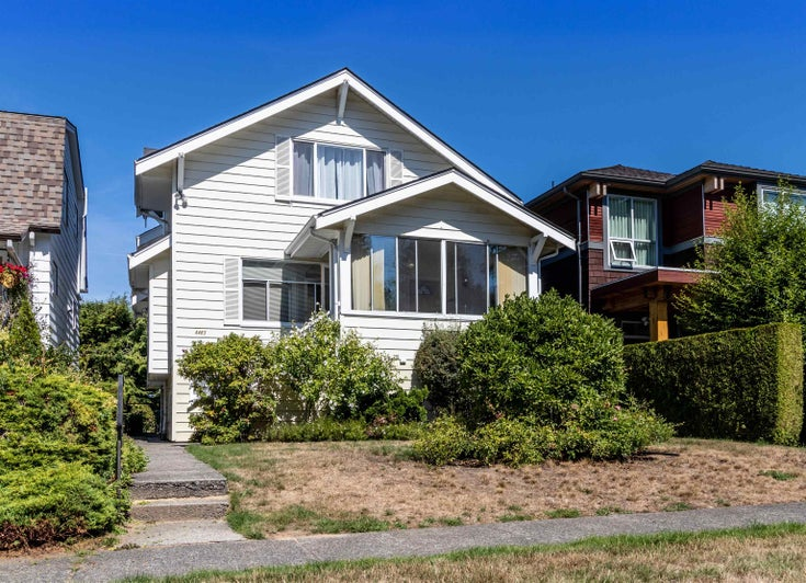 4483 W 14TH AVENUE - Point Grey House/Single Family for sale, 4 Bedrooms (R2616076)