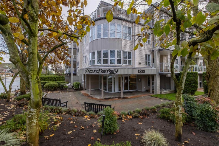 314 1588 BEST STREET - White Rock Apartment/Condo for sale, 1 Bedroom (R2616153)