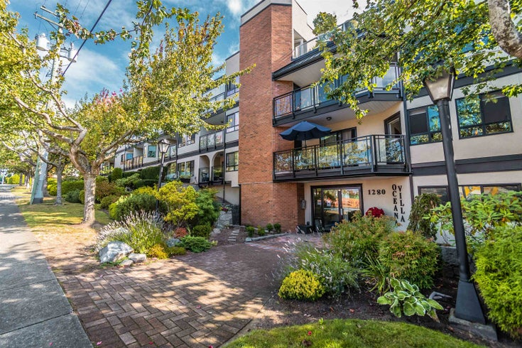 105 1280 FIR STREET - White Rock Apartment/Condo for sale, 2 Bedrooms (R2616267)
