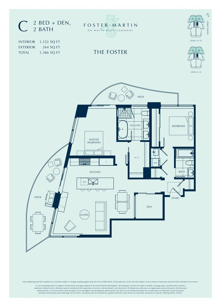 2002 1501 FOSTER STREET - White Rock Apartment/Condo for sale, 2 Bedrooms (R2616268)