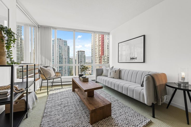 2105 1166 MELVILLE STREET - Coal Harbour Apartment/Condo for sale, 1 Bedroom (R2616319)