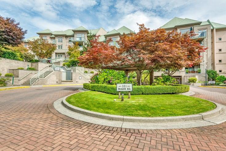 317 301 MAUDE ROAD - North Shore Pt Moody Apartment/Condo for sale, 1 Bedroom (R2616406)
