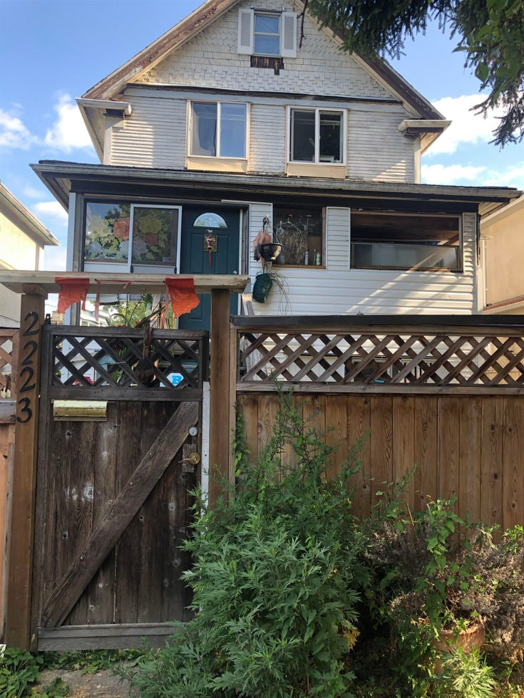 2223 OXFORD STREET - Hastings House/Single Family for sale, 2 Bedrooms (R2616440)