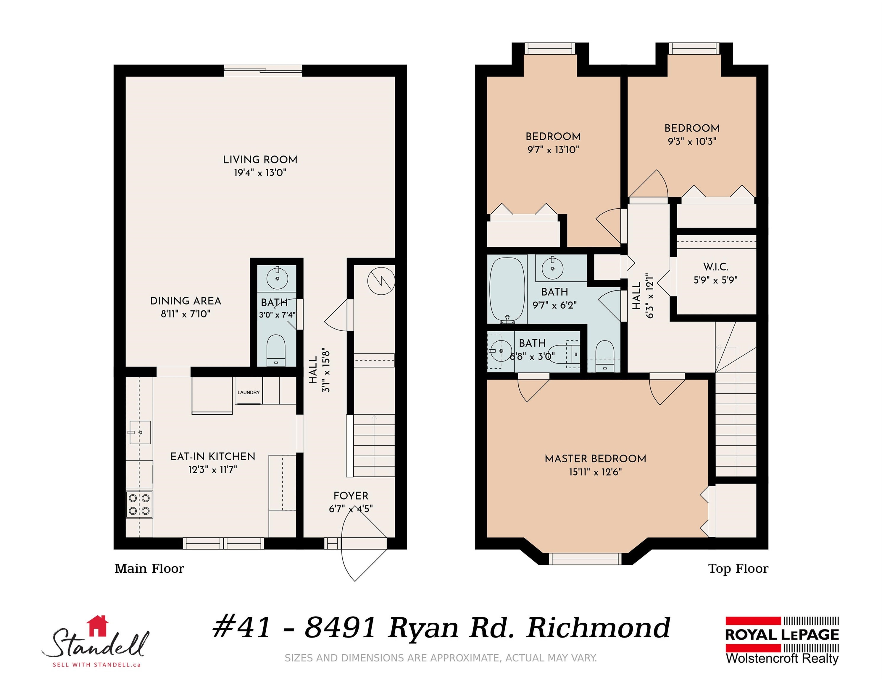 41 8491 RYAN ROAD - South Arm Townhouse for sale, 3 Bedrooms (R2616481) - #21