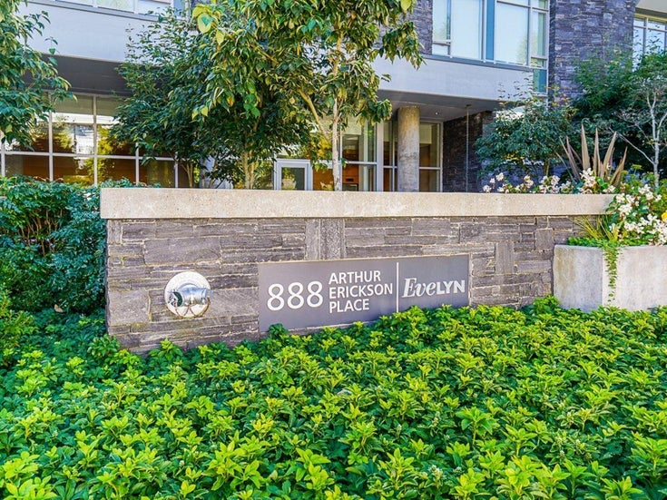 401 888 ARTHUR ERICKSON PLACE - Park Royal Apartment/Condo for sale, 2 Bedrooms (R2616631)