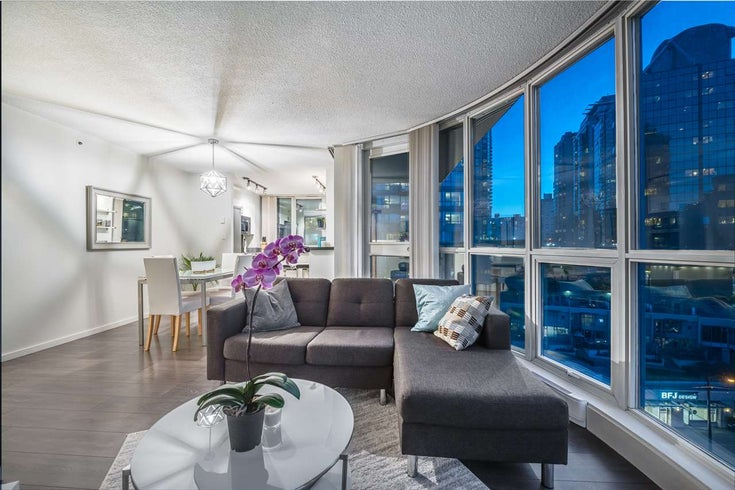805 555 JERVIS STREET - Coal Harbour Apartment/Condo for sale, 1 Bedroom (R2616699)