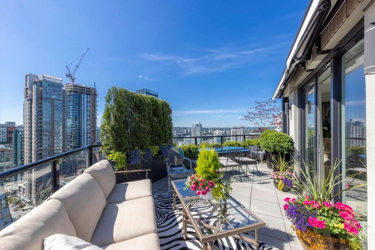 PH2 1010 BURNABY STREET - West End VW Apartment/Condo for sale, 2 Bedrooms (R2616767)