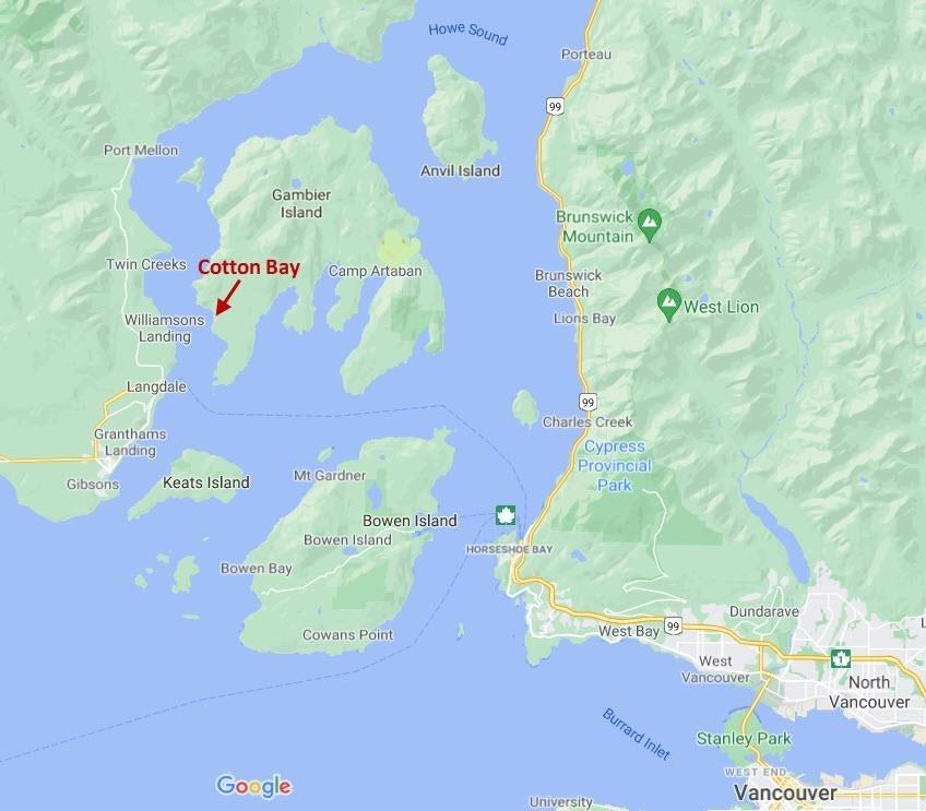 DL 477 GAMBIER ISLAND - Gambier Island for sale(R2616772)