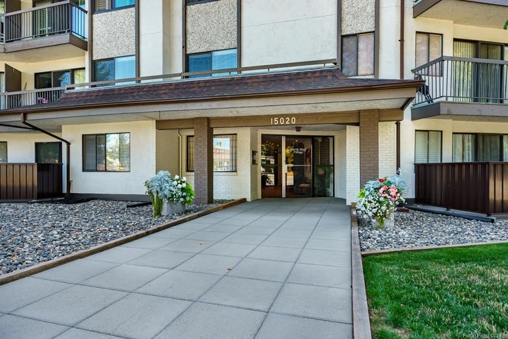 208 15020 NORTH BLUFF ROAD - White Rock Apartment/Condo for sale, 1 Bedroom (R2616871)