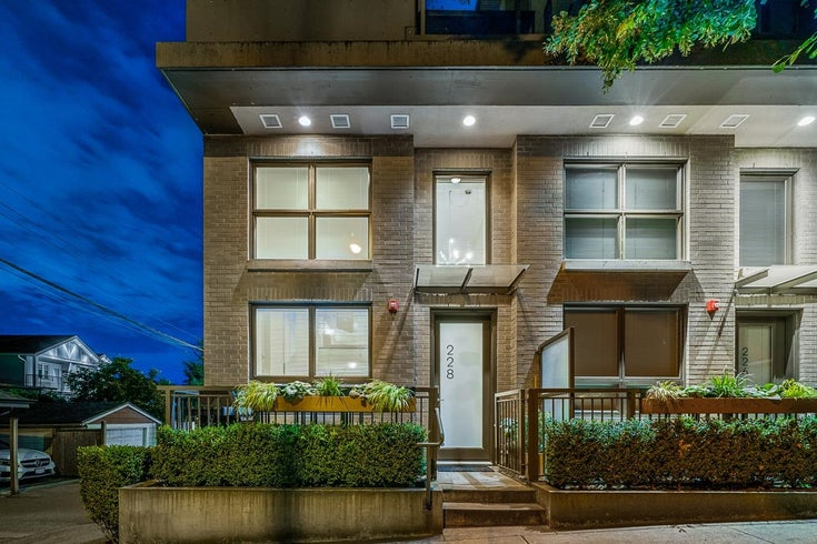 228 E 30TH AVENUE - Main Townhouse for sale, 1 Bedroom (R2616920)