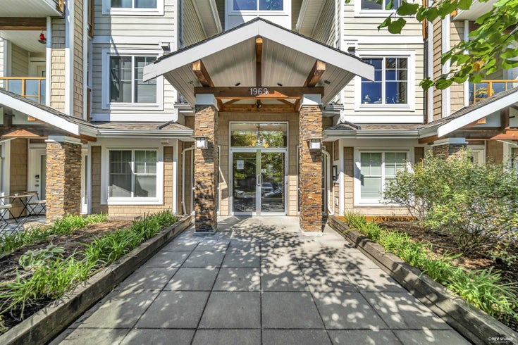 412 1969 WESTMINSTER AVENUE - Glenwood PQ Apartment/Condo for sale, 1 Bedroom (R2616999)