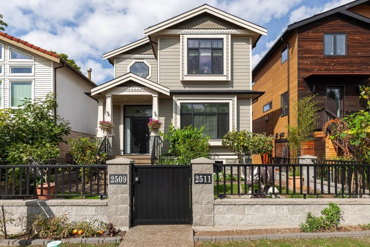2509 MCGILL STREET - Hastings Sunrise House/Single Family for sale, 6 Bedrooms (R2617108)