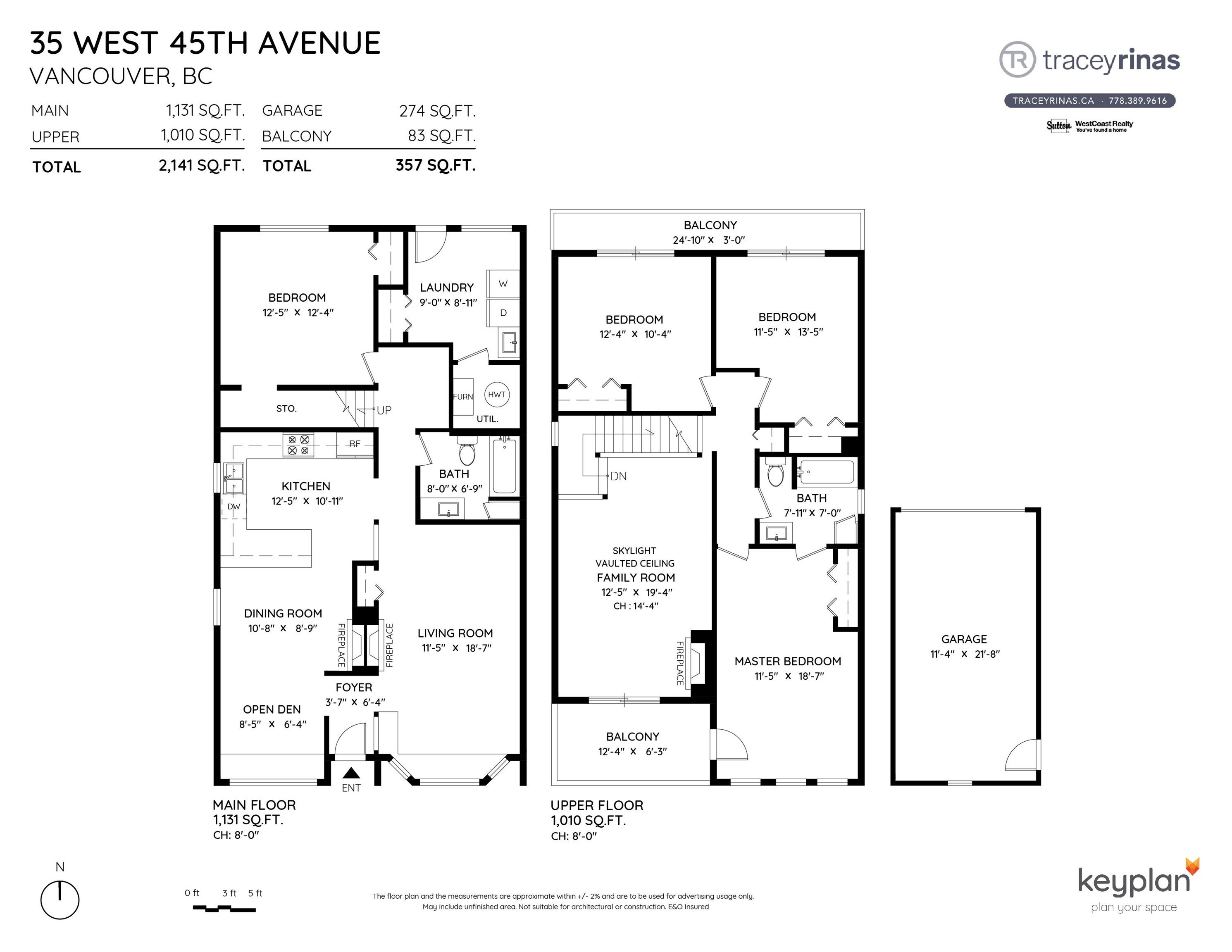 35 W 45TH AVENUE - Oakridge VW House/Single Family for sale, 4 Bedrooms (R2617171) - #29