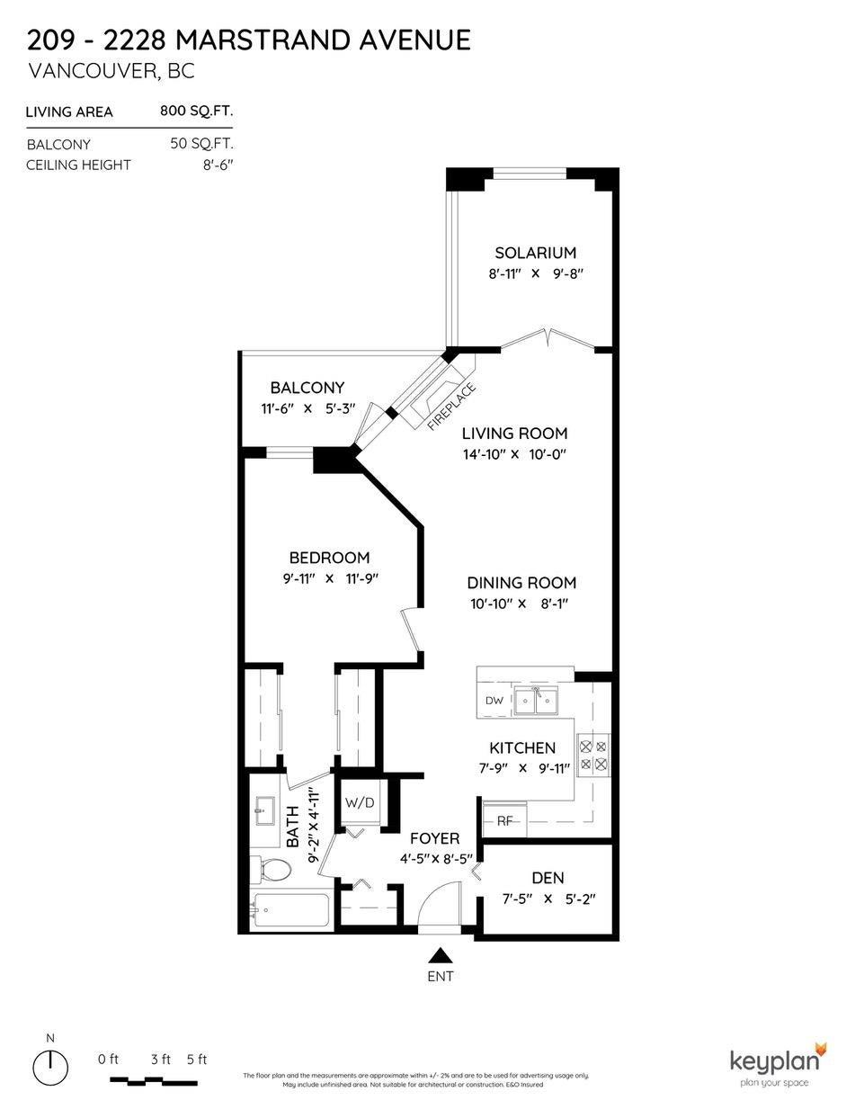209 2228 MARSTRAND AVENUE - Kitsilano Apartment/Condo for sale, 1 Bedroom (R2617246) - #21