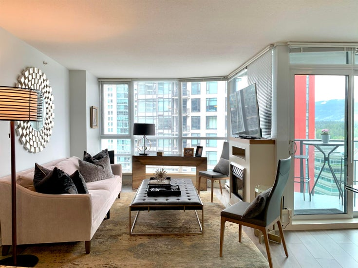 1701 1189 MELVILLE STREET - Coal Harbour Apartment/Condo for sale, 2 Bedrooms (R2617274)