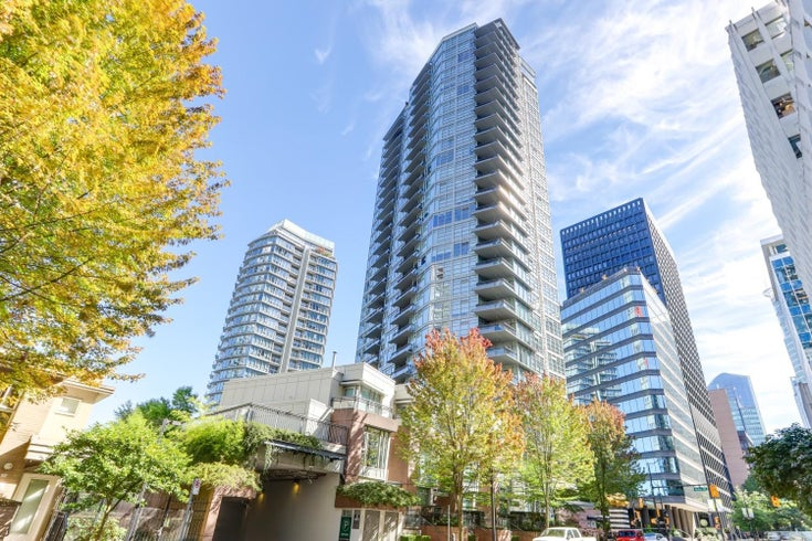 1505 1205 W HASTINGS STREET - Coal Harbour Apartment/Condo for sale, 1 Bedroom (R2617335)