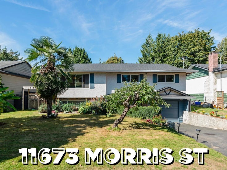 11673 MORRIS STREET - West Central House/Single Family for sale, 4 Bedrooms (R2617473)