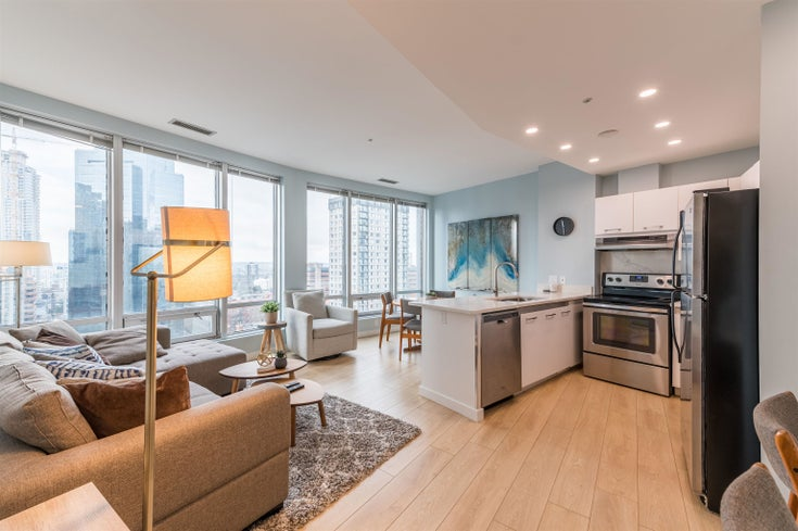 1403 989 NELSON STREET - Downtown VW Apartment/Condo for sale, 2 Bedrooms (R2617547)