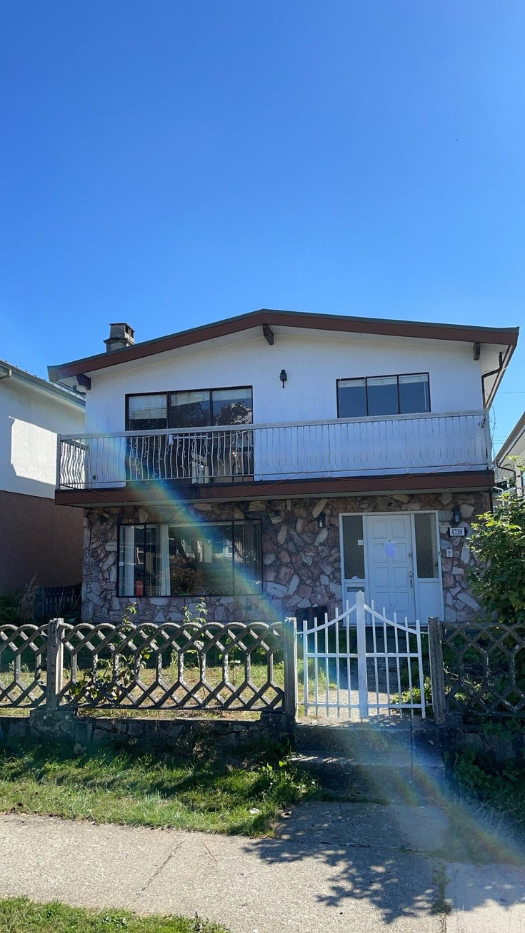 4758 PENDER STREET - Capitol Hill BN House/Single Family for sale, 4 Bedrooms (R2617624)