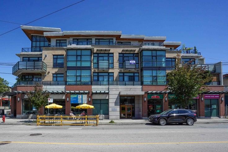 204 2020 ALMA STREET - Kitsilano Apartment/Condo for sale, 2 Bedrooms (R2617653)