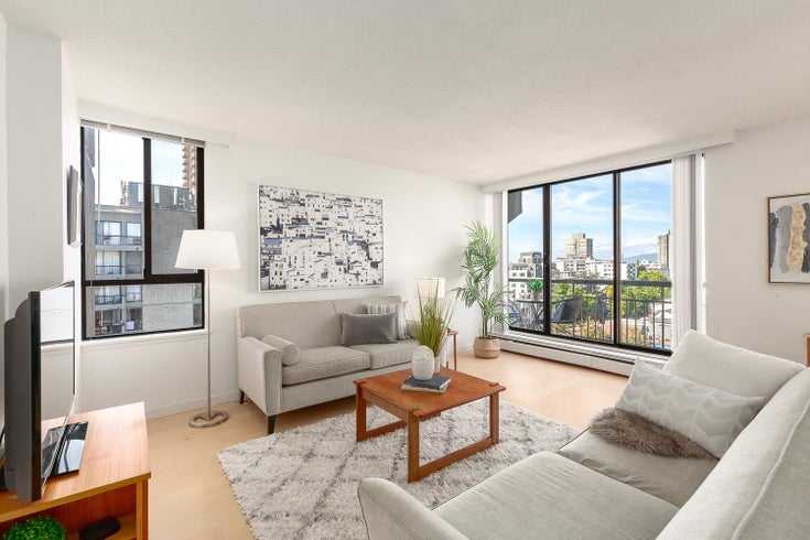 1107 1720 BARCLAY STREET - West End VW Apartment/Condo for sale, 1 Bedroom (R2617720)