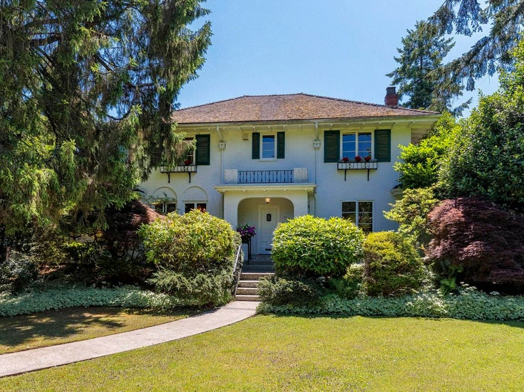 1526 BALFOUR AVENUE - Shaughnessy House/Single Family for sale, 5 Bedrooms (R2617769)
